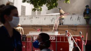 Vistoria em hospital que pegou fogo no Rio revela problemas estruturais