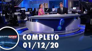 Assista à íntegra do RedeTV News de 01 de dezembro de 2020