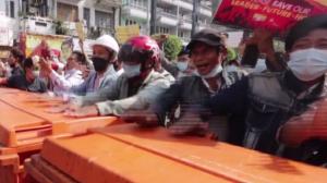 Mianmar registra mais um dia de protestos