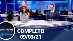 Assista à íntegra do RedeTV News de 09 de março de 2021