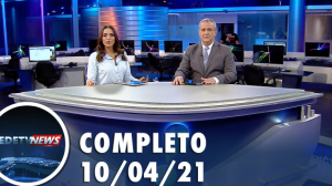 Assista à íntegra do RedeTV News de 10 de abril de 2021