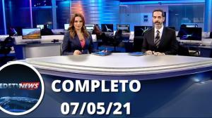 Assista à íntegra do RedeTV News de 07 de maio de 2021