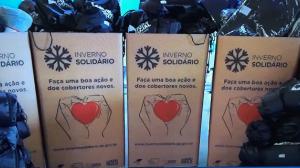 Frio intenso: governo de São Paulo monta estrutura de acolhimento
