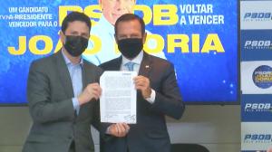 Doria registra pré-candidatura a presidente