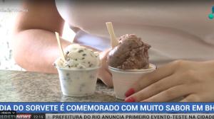 Dia do Sorvete é comemorado em Belo Horizonte