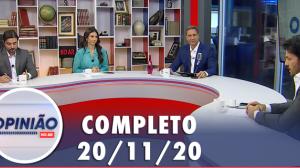 Opinião no Ar (20/11/2020) | Completo