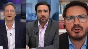 Lacombe, Silvio Navarro e Constantino debatem liberdade de imprensa