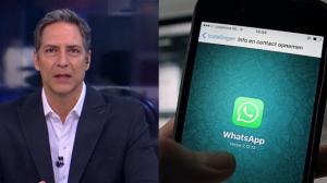 """Lacombe sobre novo golpe via Whatsapp: """"Usaram um número que não era o meu"""""""