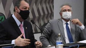 "Carla Zambelli critica ""denúncias sem provas""na CPI da Covid-19"