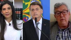 Amanda Klein estranha silêncio de Bolsonaro sobre negociação da Covaxin