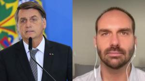 """1000 dias sem corrupção? """"Isso tem que ser mostrado"""", diz Eduardo Bolsonaro"""