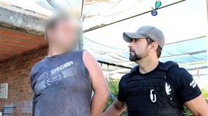 """Foragido admite outros crimes ao ser preso: """"Já puxei cadeia por homicídio"""""""