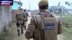 Polícia faz emboscada para prender traficante em Palhoça, Santa Catarina