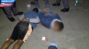 Ladrões são presos após aterrorizar vítima com arma de brinquedo