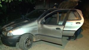 Bandidos tentam assaltar moradores e acabam fugindo ao verem a polícia