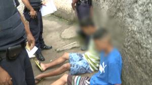 Traficantes são presos por tráfico de drogas em boca de fumo