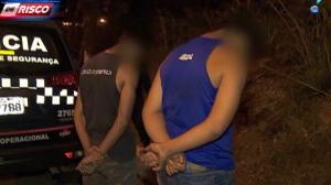 Ladrões armados em moto fazem arrastão e fogem da polícia