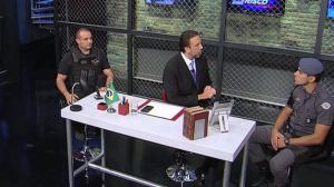 Delegado Palumbo e tenente Bastos comentam ocorrências