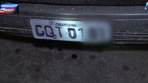 Suspeito desobedece medida cautelar e é preso com carro clonado