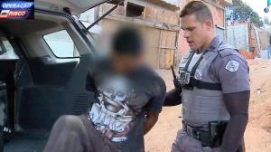 """Traficante é flagrado pela segunda vez na mesma """"biqueira"""""""