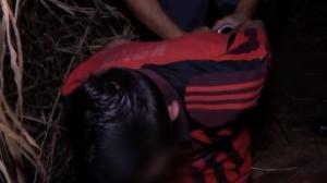 Traficante é preso após correr da polícia e se esconder em matagal