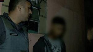 """""""Fiquei com medo"""", diz traficante que tentou fugir da polícia"""