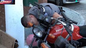 """Menor é detido com moto irregular: """"Peguei para fazer entrega"""""""