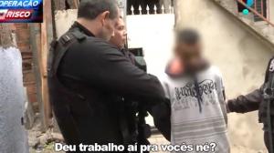 Traficante é preso com droga em favela de São Paulo