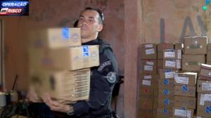 Ladrões roubam carga de laticínios e escondem mercadoria em lava-rápido