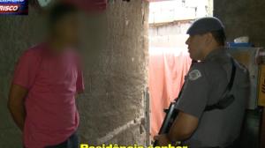 "Suspeito de tráfico ""treme na base"" ao ser abordado pela polícia"