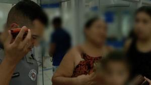 Mãe fica prestes a depositar dinheiro de resgate para falso sequestro