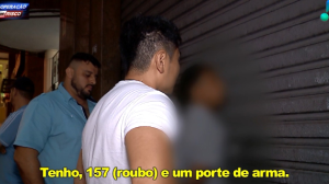 Traficante é preso ao vender drogas no centro de São Paulo