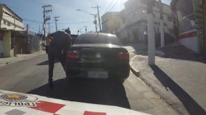 Em abordagem, polícia descobre que suspeito era procurado pela Justiça