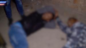 """Traficante chora ao ser preso: """"Eu só vim comprar coxinha"""""""