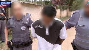 """""""Não acho certo roubar"""", diz ladrão de carro após ser preso"""