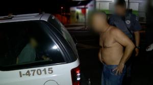 Jovem é detido com moto roubada e leva sermão da família
