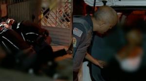 """Rapaz dá pinote, reage a abordagem da polícia e afirma: """"eu me assustei"""""""