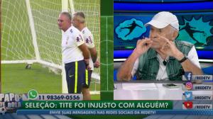 """""""O que o Dudu fez para o Tite?"""", pergunta Silvio Luiz sobre convocação"""