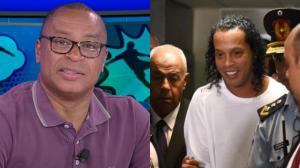 """Paulo Sérgio sobre Ronaldinho preso: """"Serve de lição para todos os atletas"""""""