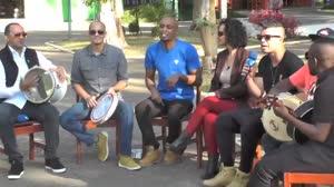Confira os bastidores do 'Ritmo Brasil' com o Art Popular