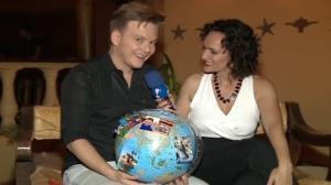'Amei ter cantado na Cro�cia', conta Michel Tel�