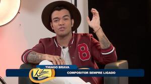 Thiago Brava conta hist�ria que inspirou hit