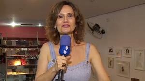 Faa Morena recebe amigos em lançamento de novo livro