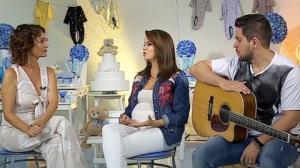 Maria Cecília, da dupla com Rodolfo, diz que gravidez a fez cantar melhor