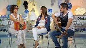 Maria Cecília e Rodolfo testam conhecimentos sobre canções de ninar