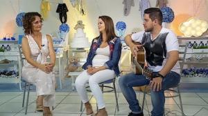 Maria Cecília e Rodolfo contam como será o quarto do filho