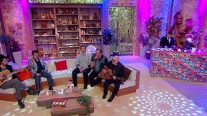 Biquini Cavadão canta sucessos no Ritmo Brasil
