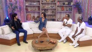 Faa Morena recebe Negritude Junior e Cadu de Andrade no Ritmo Brasil