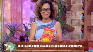 """No ""Literando"", Faa Morena comenta o livro ""Hippie"""