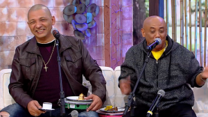 """Castanha, da dupla com Caju, brinca sobre Grammy Latino: """"Passei fome lá"""""""
